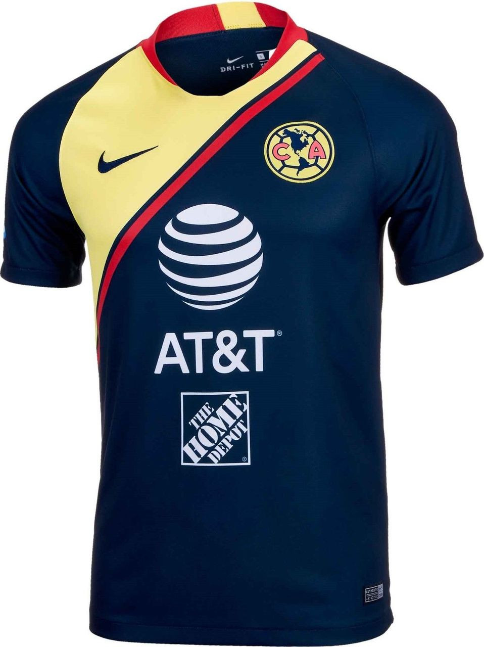 new arrivals fe3c5 ccd75 NIKE CLUB AMERICA 2019 AWAY JERSEY