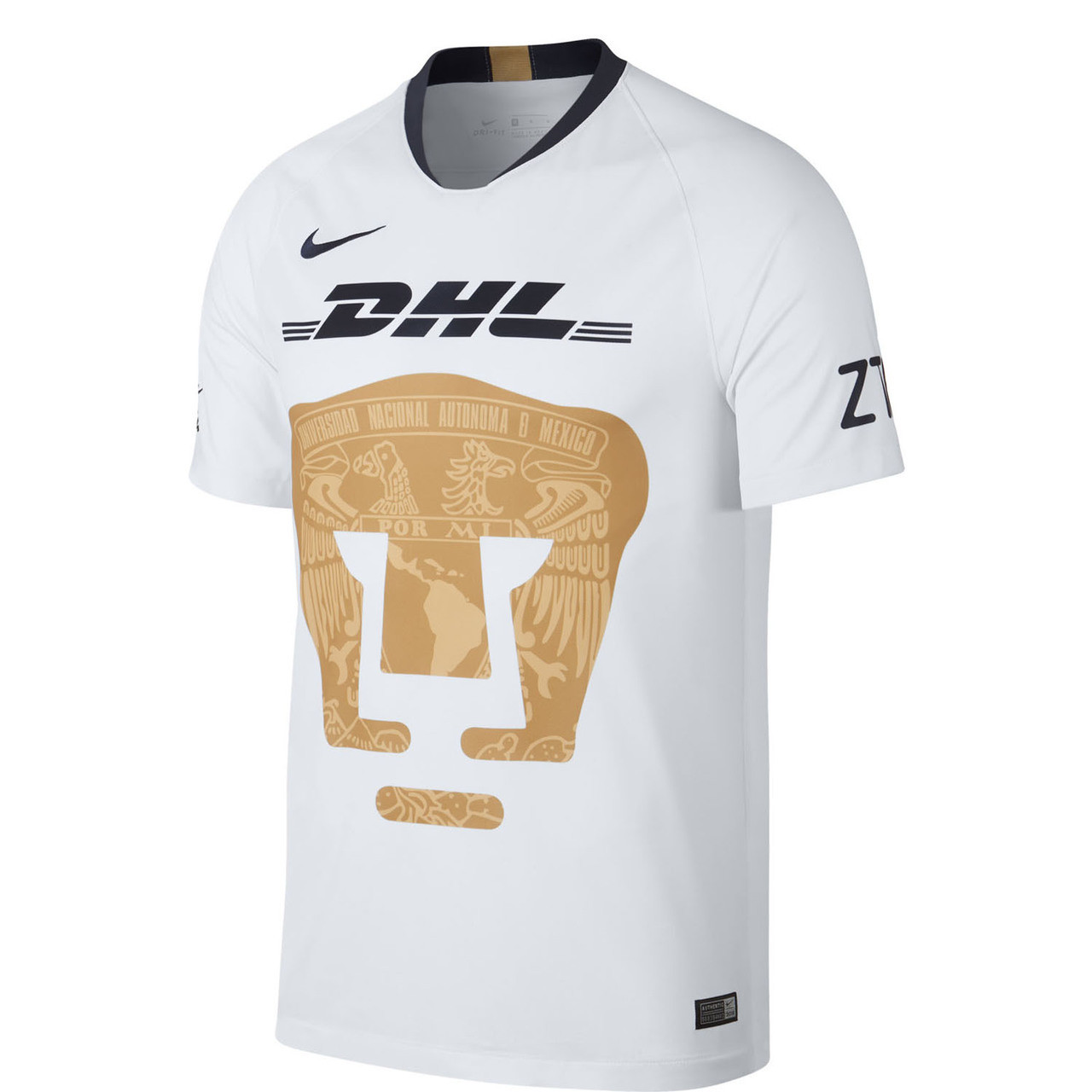 huge selection of dcbed 05f6d NIKE UNAM PUMAS 2019 HOME JERSEY WHITE