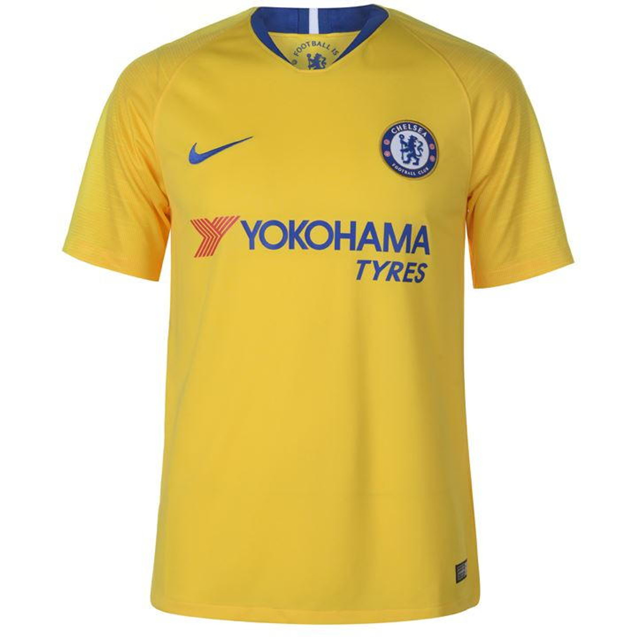 sports shoes c5612 56e44 NIKE CHELSEA FC 2019 AWAY JERSEY YELLOW
