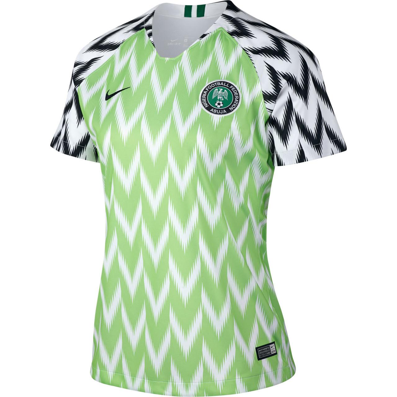 NIKE NIGERIA WOMEN'S 2018 World Cup Home Stadium Jersey