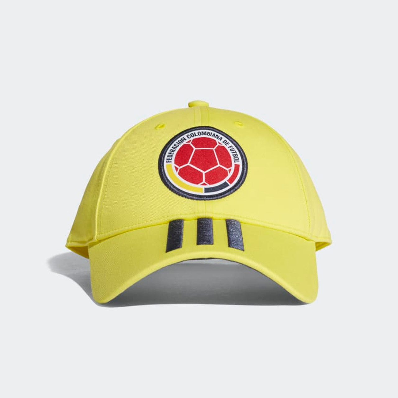 ADIDAS COLOMBIA 2018 YELLOW 3 STRIPES HAT - Soccer Plus 41eb60a4b50