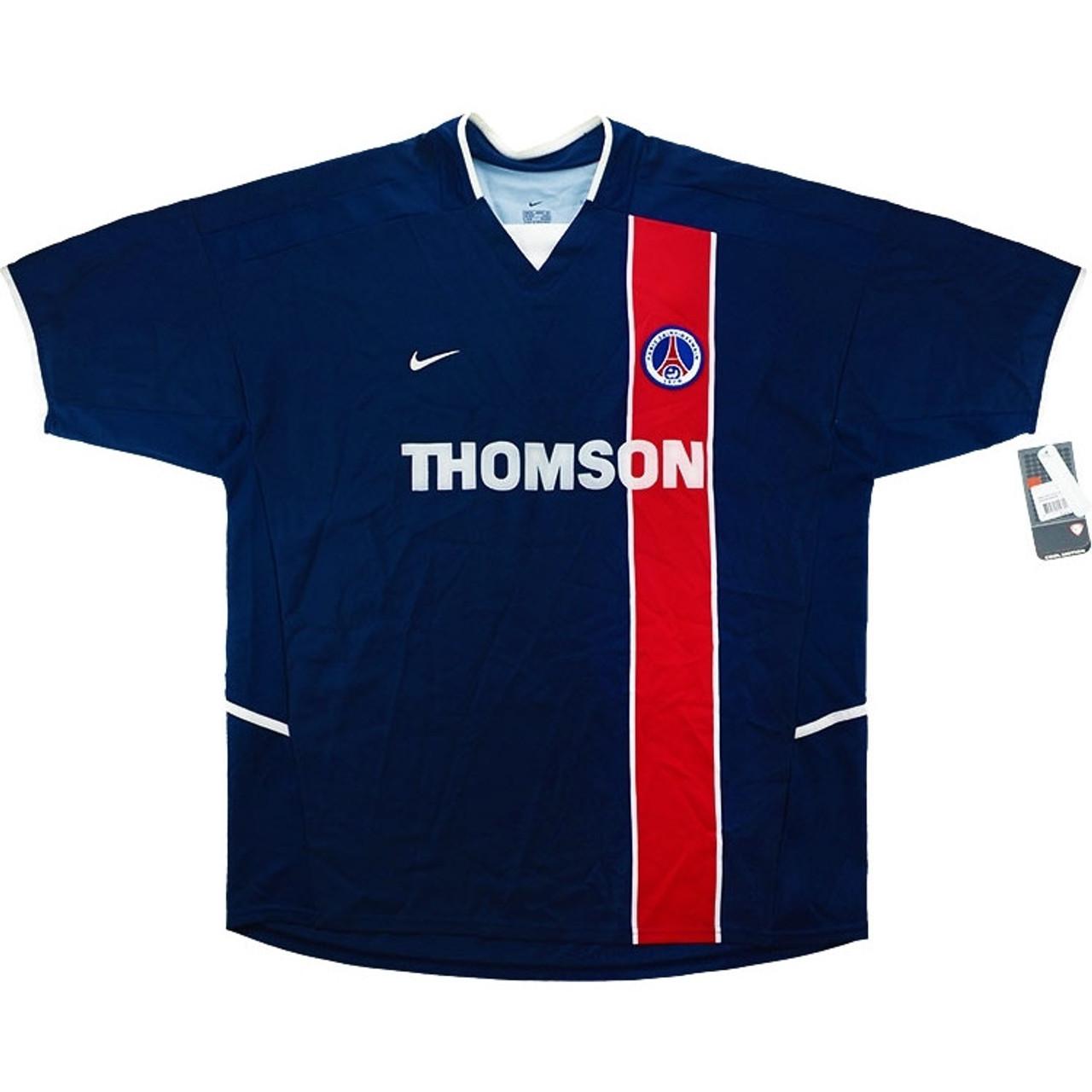 61f6cbde295 NIKE PARIS SAINT-GERMAIN 2005 HOME `PAULETA` JERSEY - Soccer Plus
