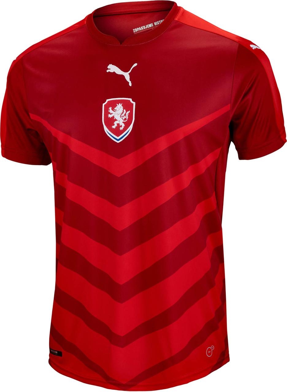 dc33bef3e PUMA CHECH REPUBLIC 2016 HOME JERSEY - Soccer Plus