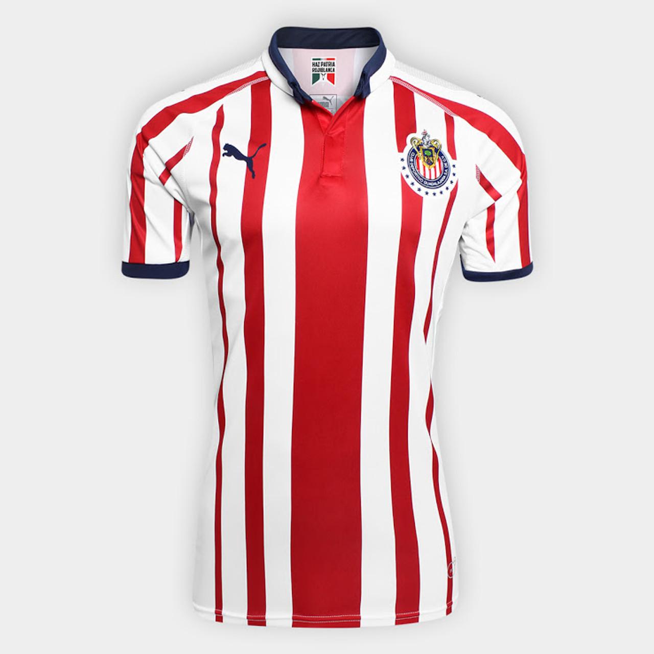 e15a43e2696 PUMA CHIVAS GUADALAJARA 2019 HOME JERSEY - Soccer Plus