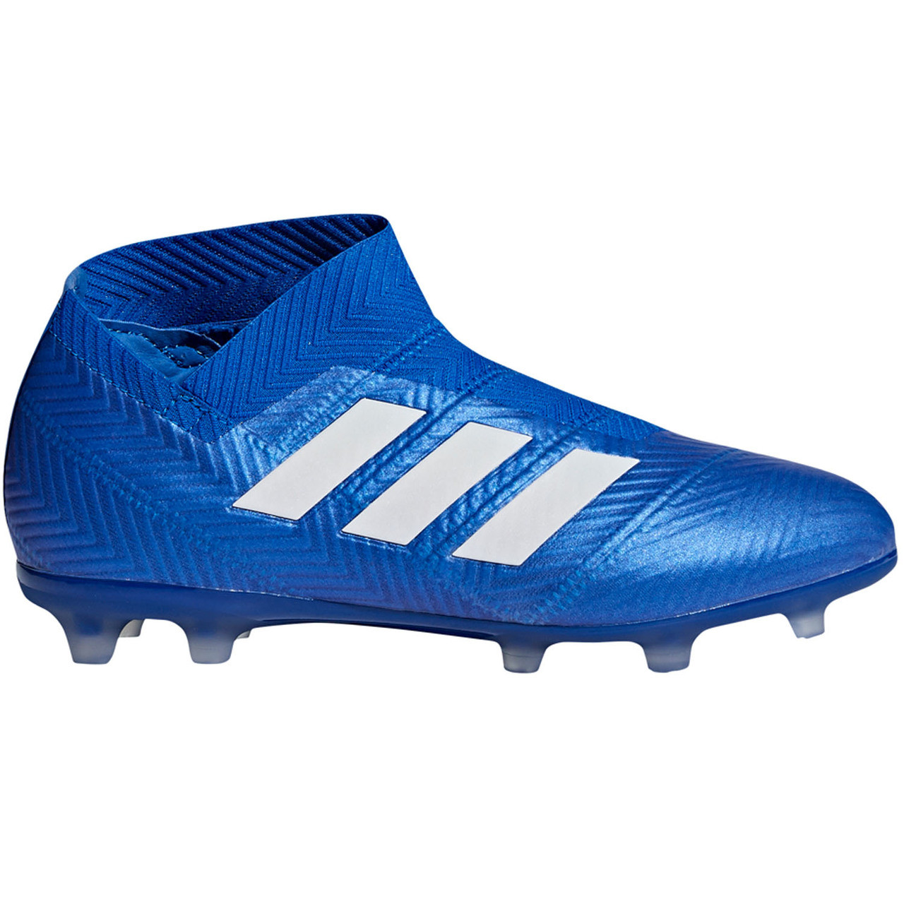 reputable site 24c86 08f01 ADIDAS NEMEZIZ 18 + FG J BLUE - Soccer Plus