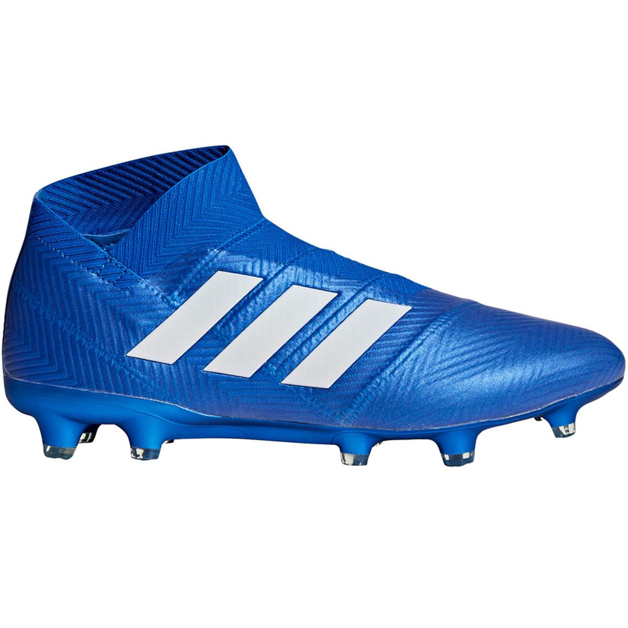 a6d22def6 ADIDAS NEMEZIZ 18+ FG BLUE - Soccer Plus