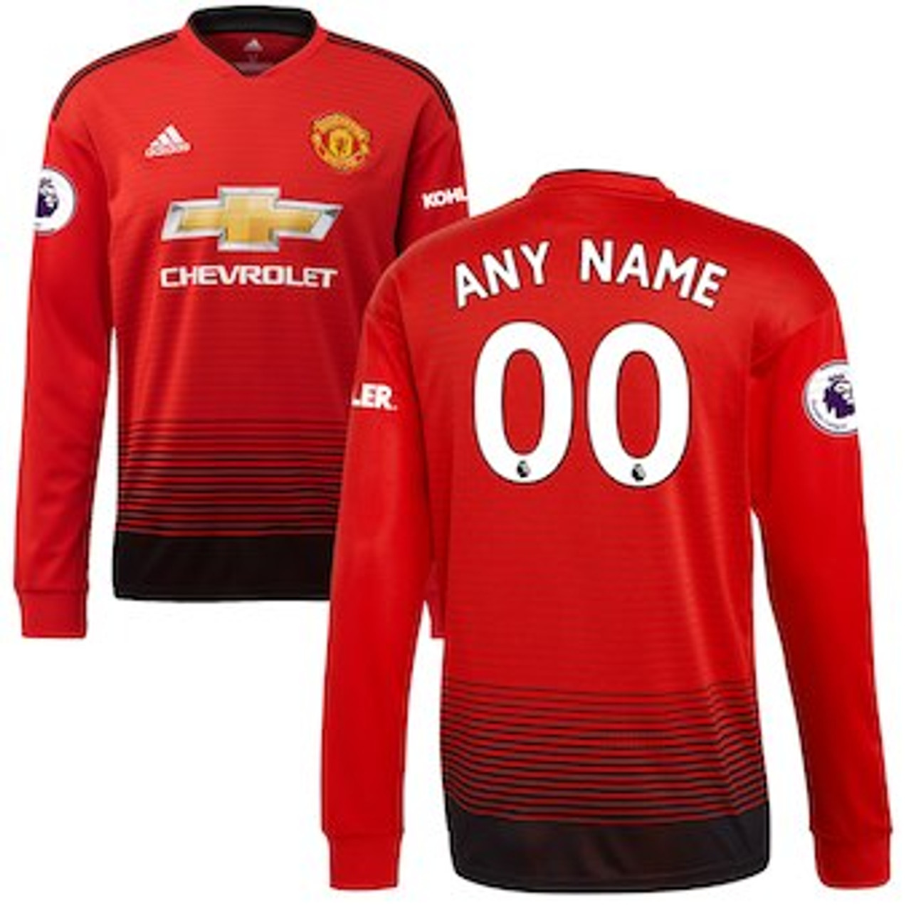 ADIDAS MANCHESTER UNITED 2019 HOME LS JERSEY