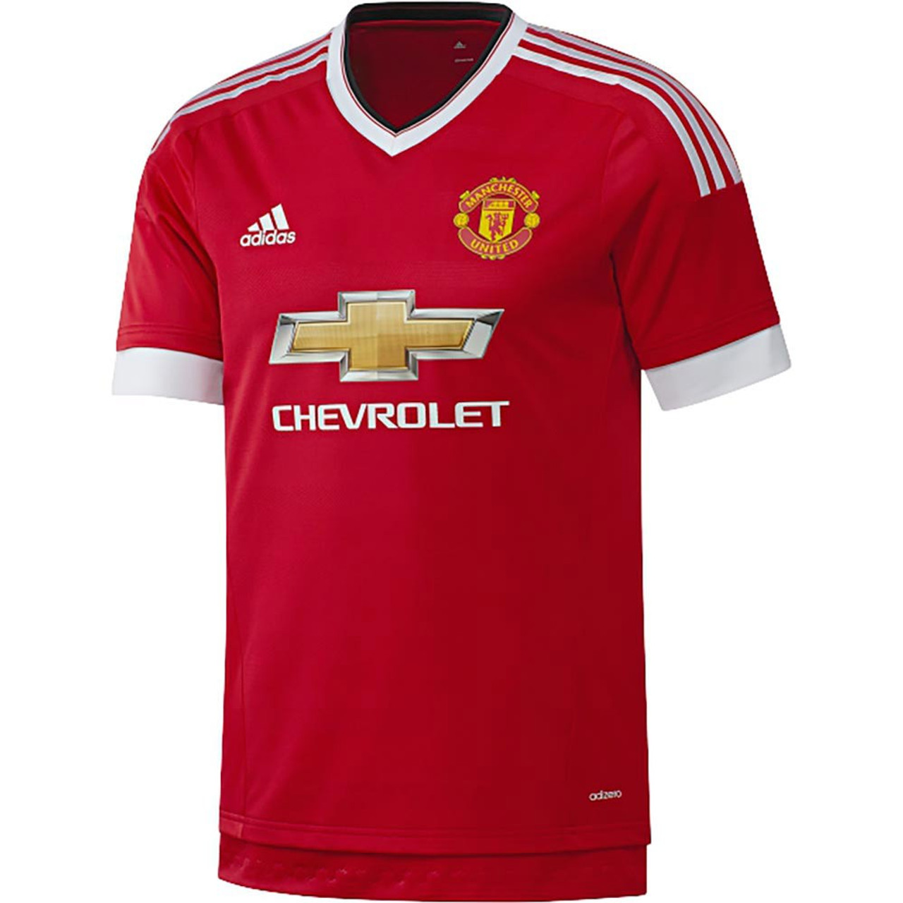 brand new f0624 16fa0 ADIDAS MANCHESTER UNITED 2016 Home Authentic Jersey