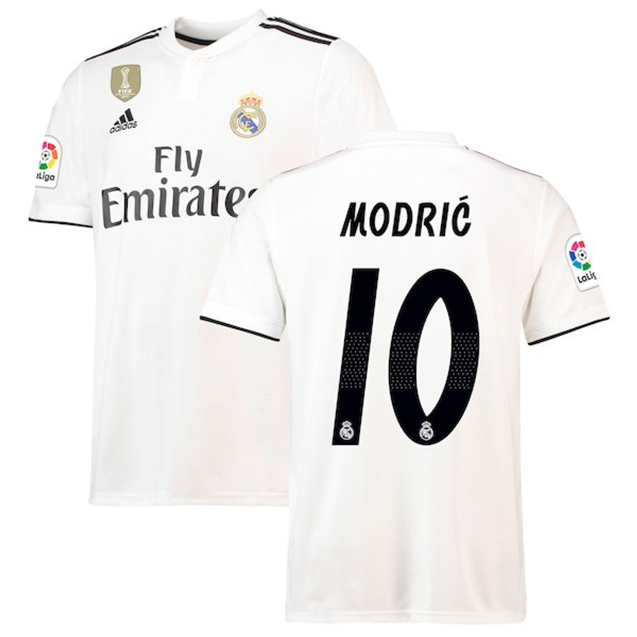 low priced 67781 1bb63 ADIDAS REAL MADRID 2019 HOME `MODRIC` JERSEY