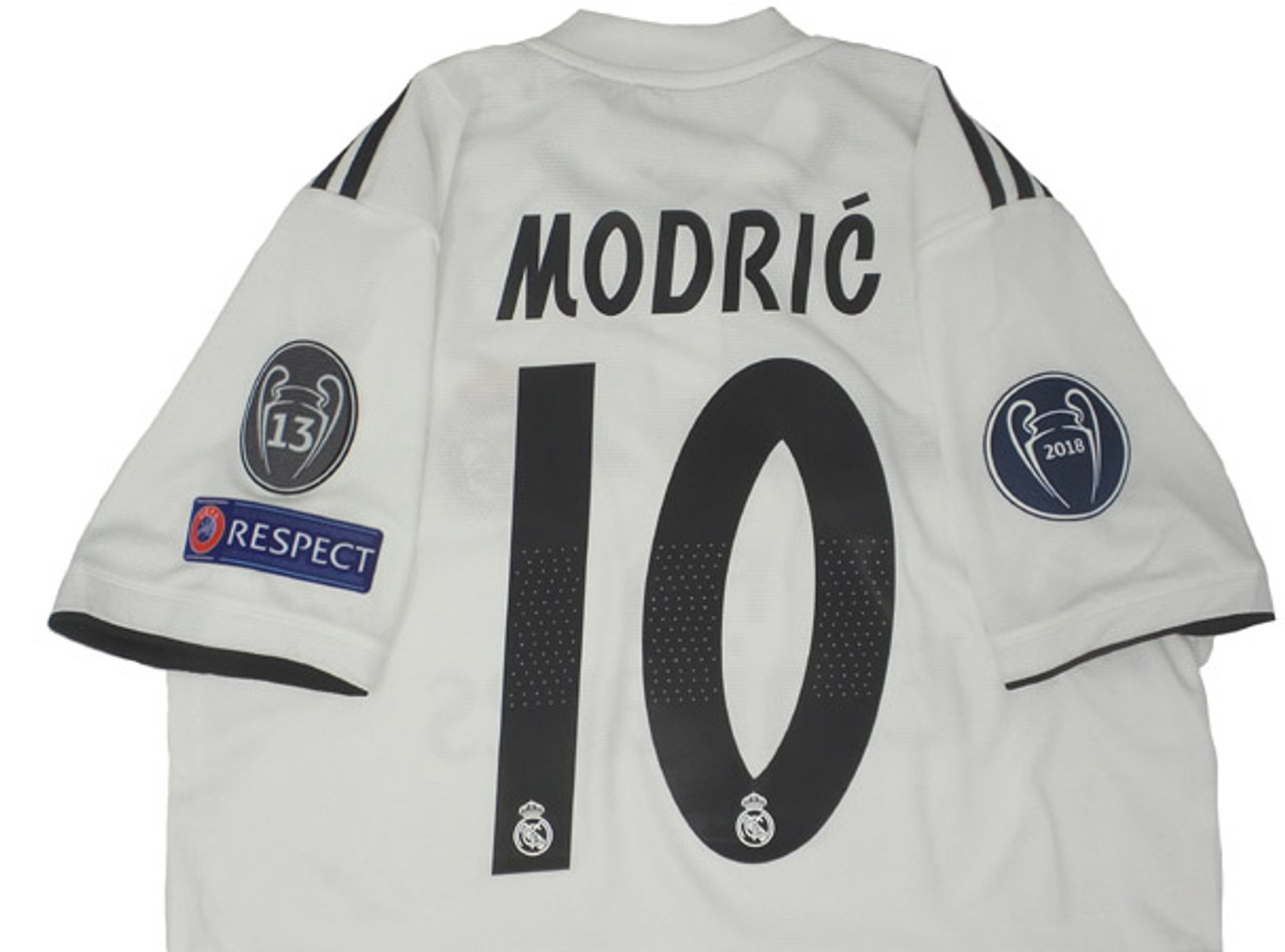 timeless design 9fc91 d299c ADIDAS REAL MADRID 2019 MODRIC C/L HOME JERSEY