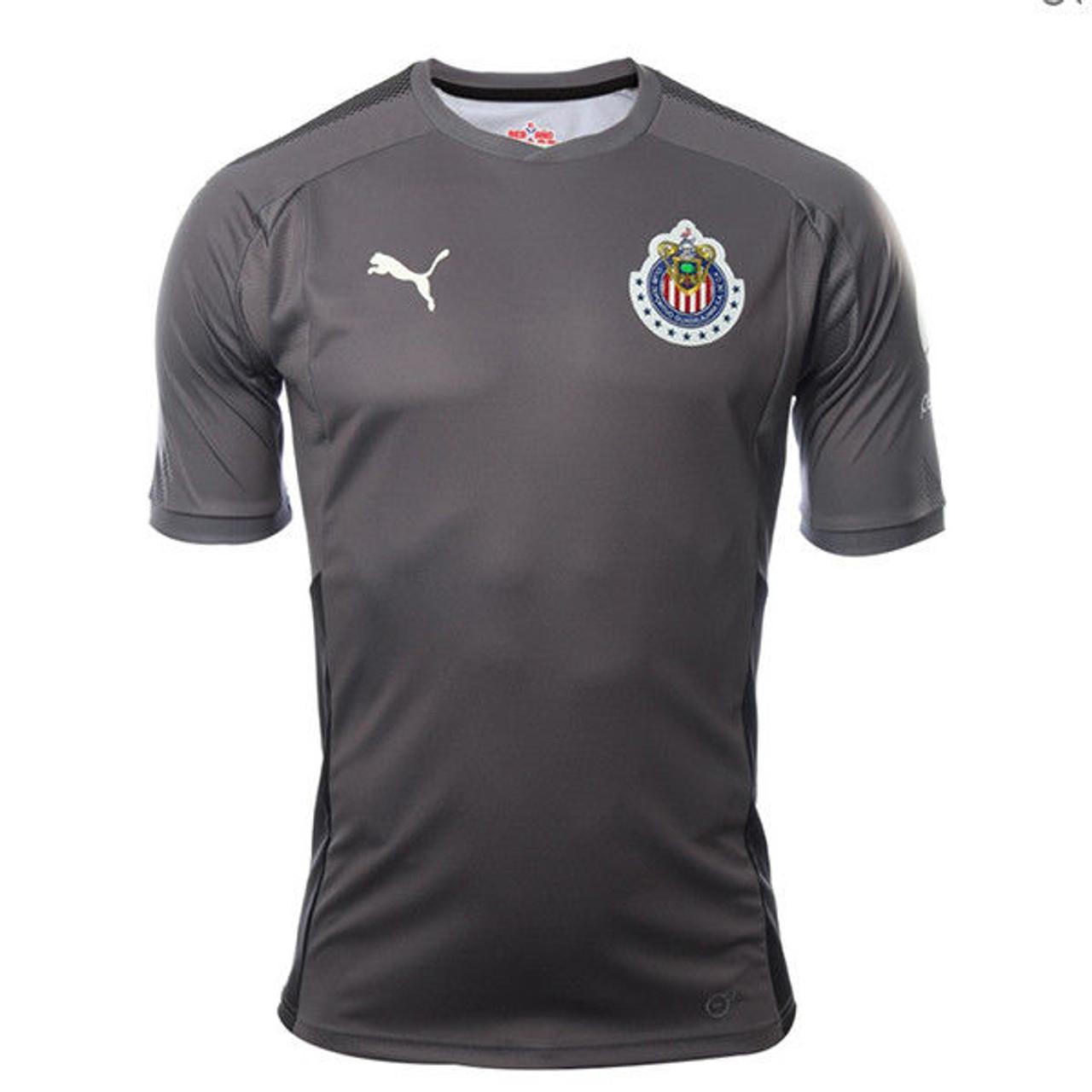 784471e97 PUMA CHIVAS 2018 G K JERSEY GREY - Soccer Plus