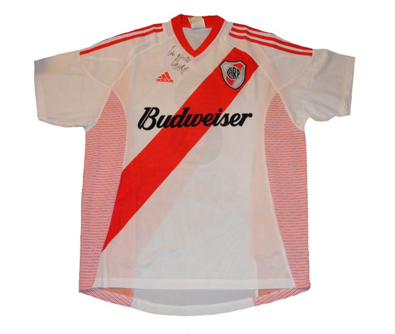 36a81d8c8 ADIDAS RIVER PLATE 2004 HOME JERSEY - Soccer Plus