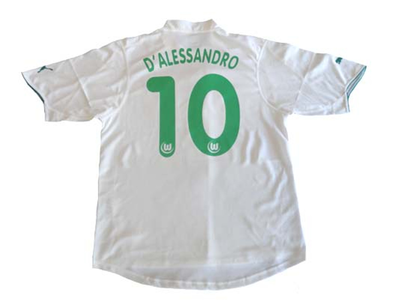 competitive price 9adfb 0fcfe PUMA WOLFSBURG 2004 HOME`D'ALESSANDRO` JERSEY