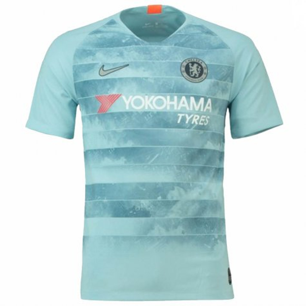 new style 694a0 cc411 NIKE CHELSEA 2019 3RD JERSEY Ocean Bliss/Metallic Silver
