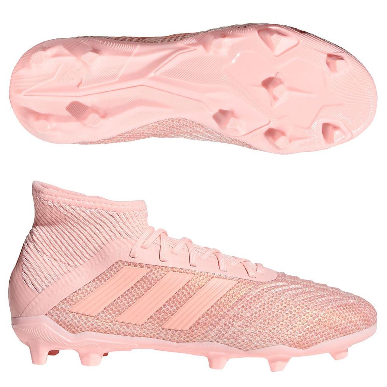 37a8aa8ffb4 ... adidas predator 18.1 fg junior clear orange trace pink soccer plus