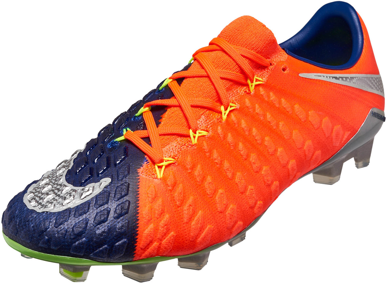 meilleur site web c433a b9c62 Nike Hypervenom Phantom III FG – Deep Royal/Chrome