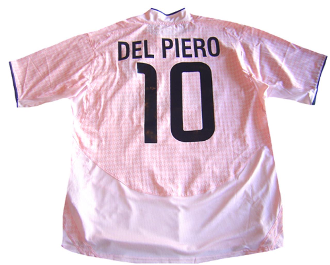 new product eee67 7c232 NIKE JUVENTUS 2005 AWAY `DEL PIERO` JERSEY PINK