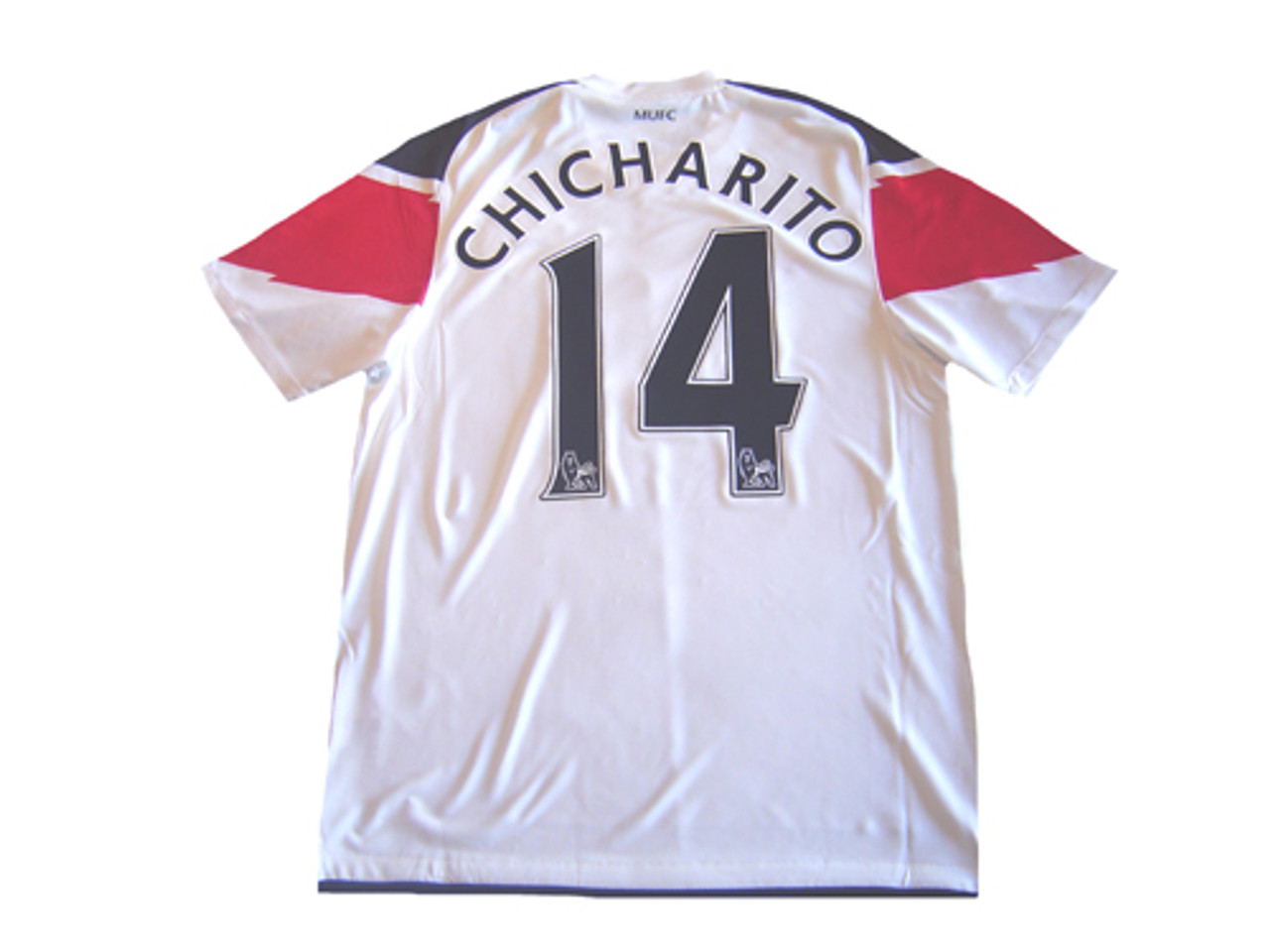 reputable site 92c20 a9964 NIKE MANCHESTER UNITED 2011 AWAY `CHICHARITO` JERSEY WHITE