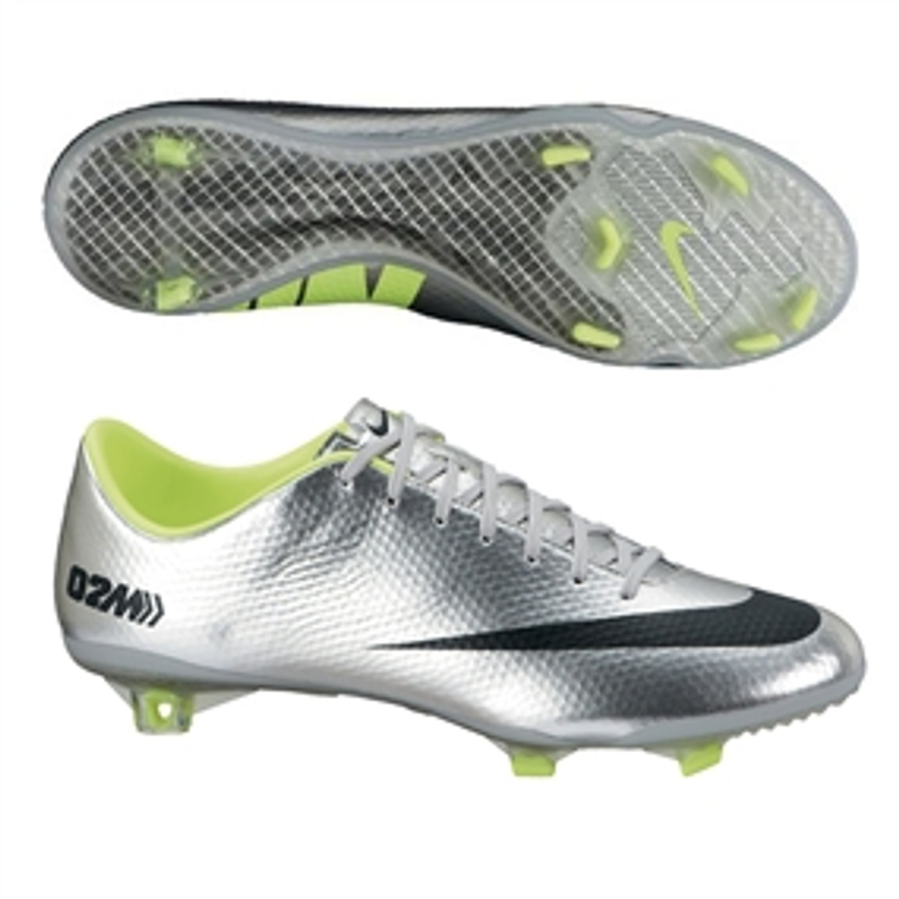 price reduced well known great deals NIKE MERCURIAL VAPOR IX FG Metallic Silver/Volt/Black