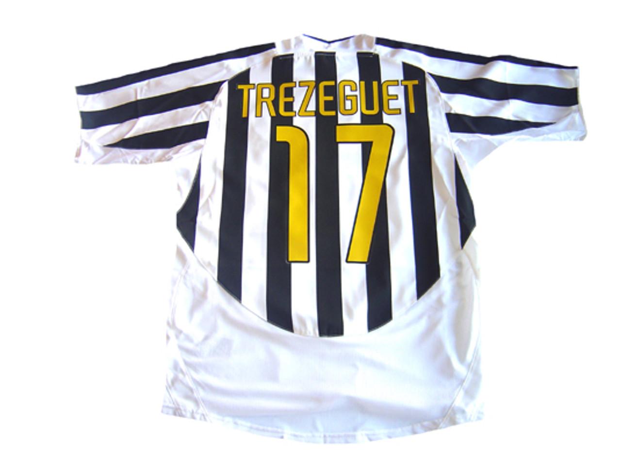 31820dec976 NIKE JUVENTUS 2004 HOME `TREZEGUET` JERSEY - Soccer Plus