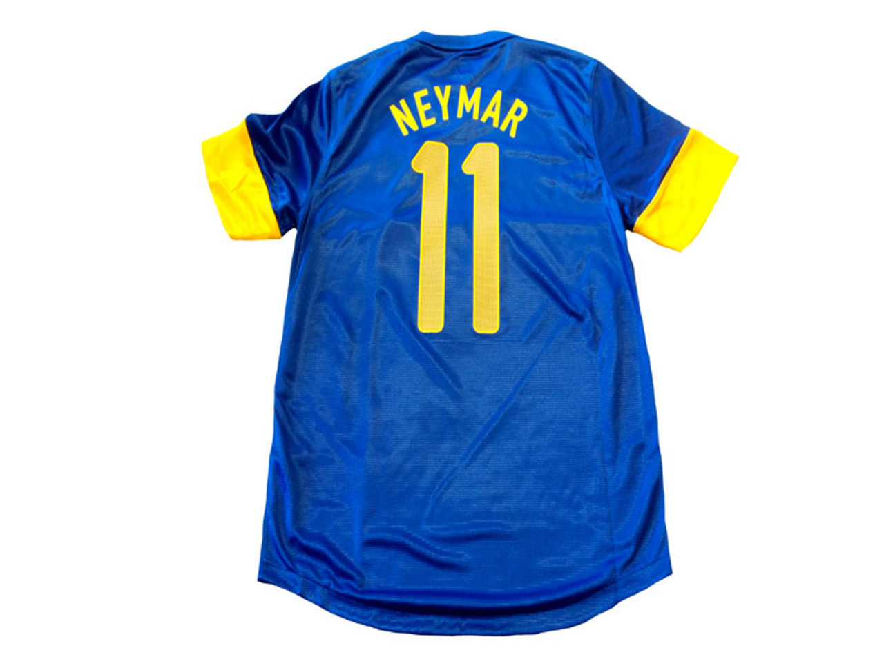 sale retailer 5a594 7cf09 NIKE BRAZIL 2012 AWAY `NEYMAR` JERSEY BLUE