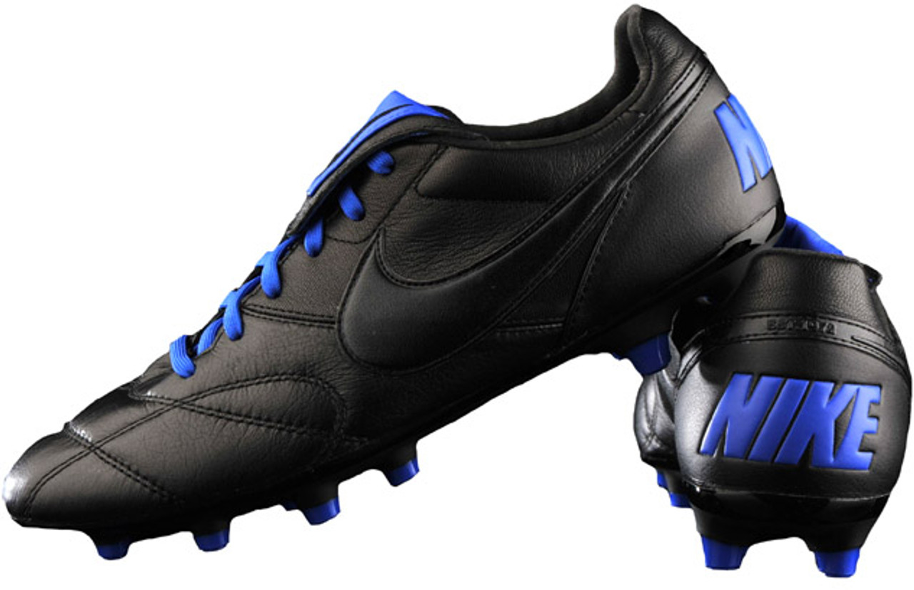cheap for discount 00058 504f9 NIKE TIEMPO PREMIER II FG Black/racer Blue