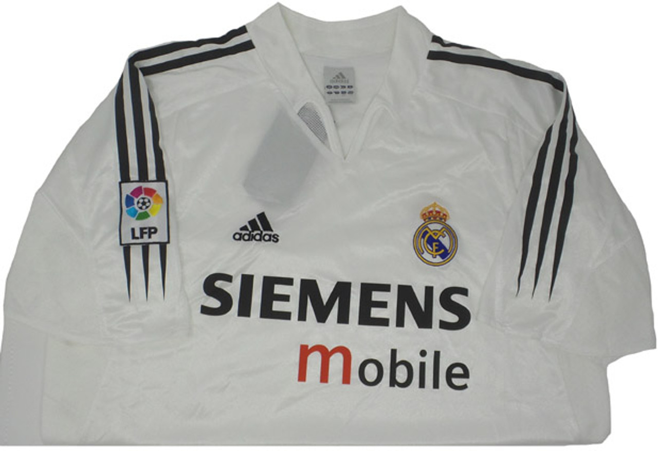 hot sale online c484e b5fde ADIDAS REAL MADRID 2005 HOME JERSEY