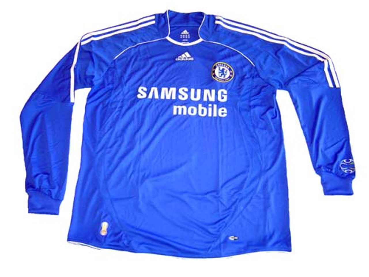ADIDAS CHELSEA 2008 L/S HOME JERSEY
