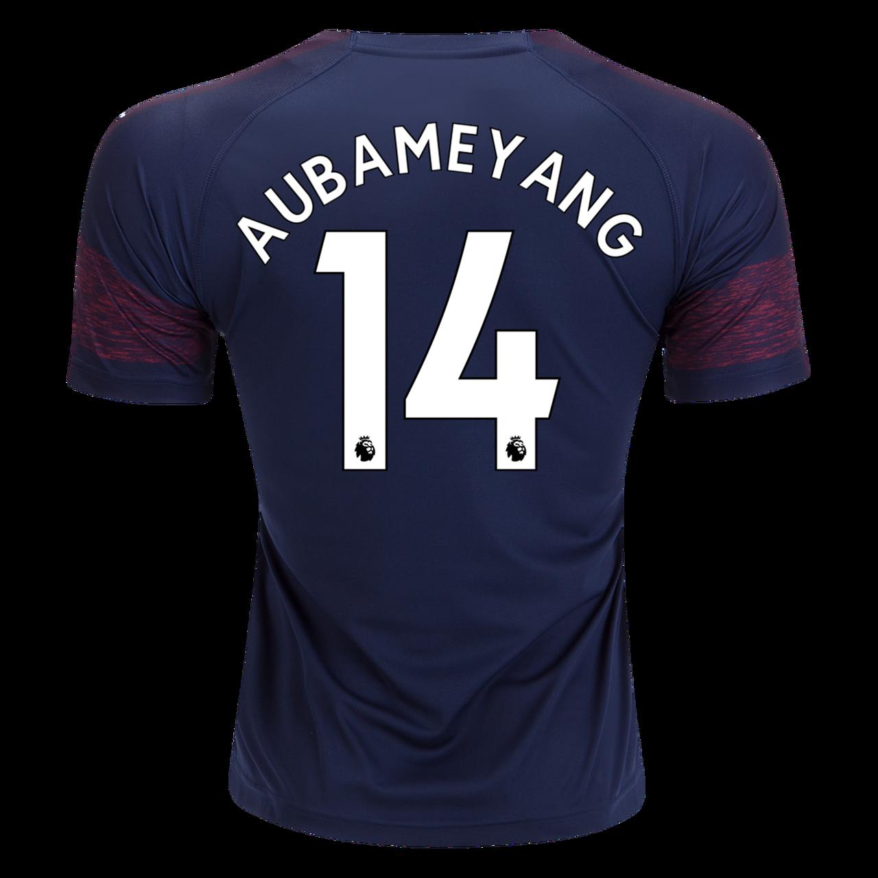 ad279028 PUMA ARSENAL 2019 AWAY `AUBAMEYANG`JERSEY NAVY BLUE - Soccer Plus