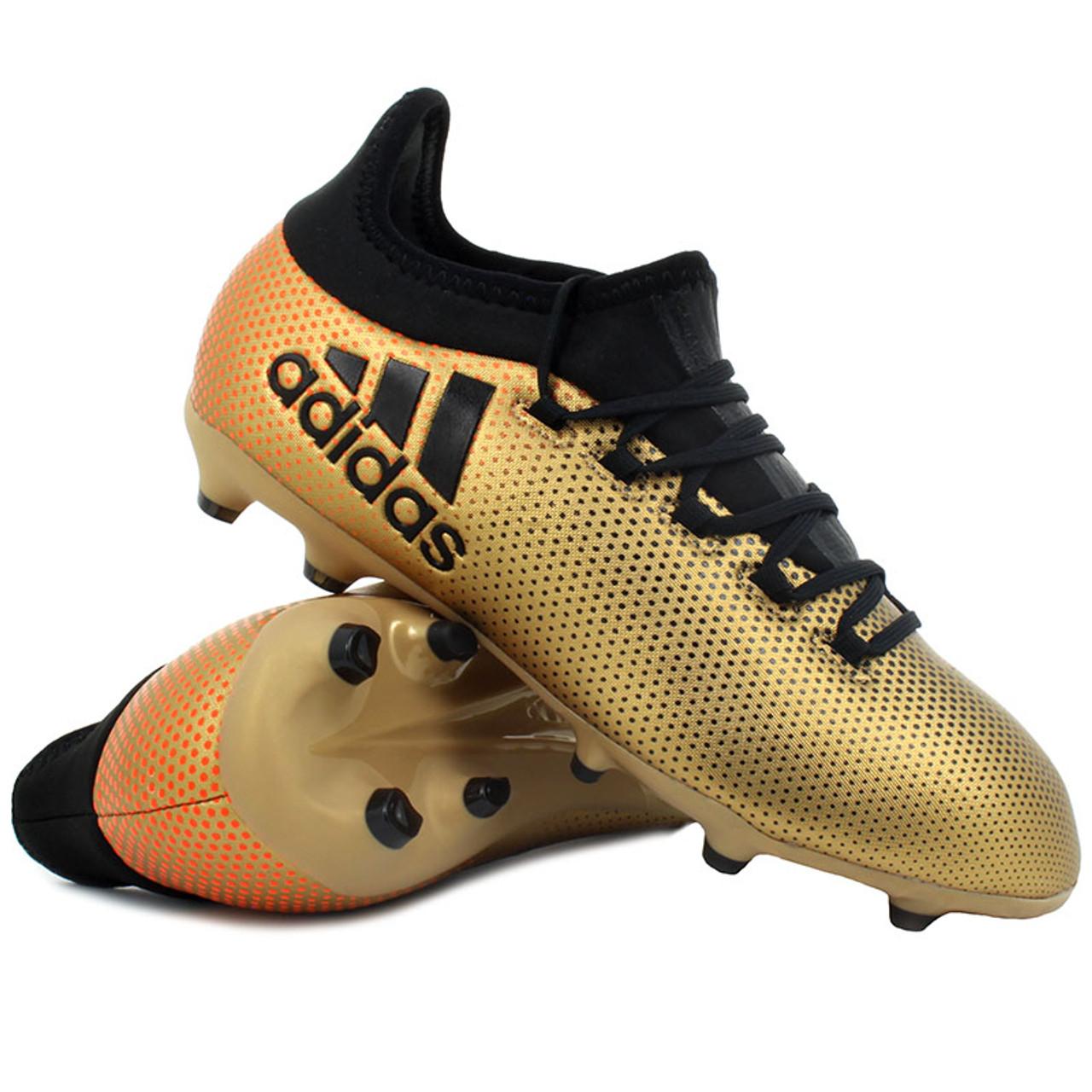 newest collection da207 571db ADIDAS X 17.1 FG J Gold - Soccer Plus