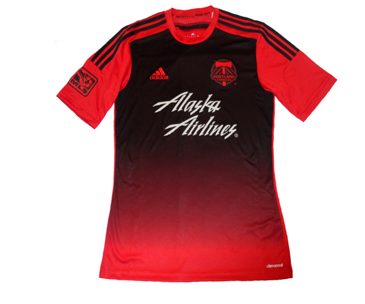 official photos bb328 569a9 ADIDAS PORTLAND TIMBERS 2014 AWAY JERSEY BLACK