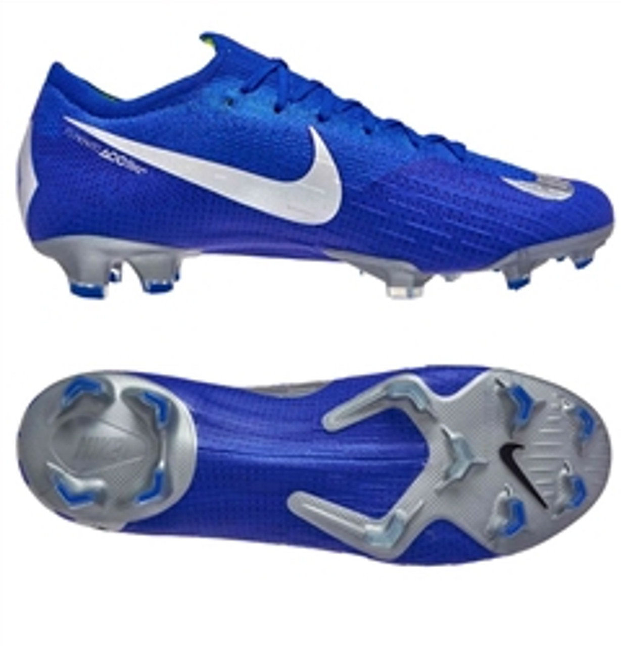 get online good looking ever popular NIKE MERCURIAL VAPOR 12 Elite FG Blue-Silver