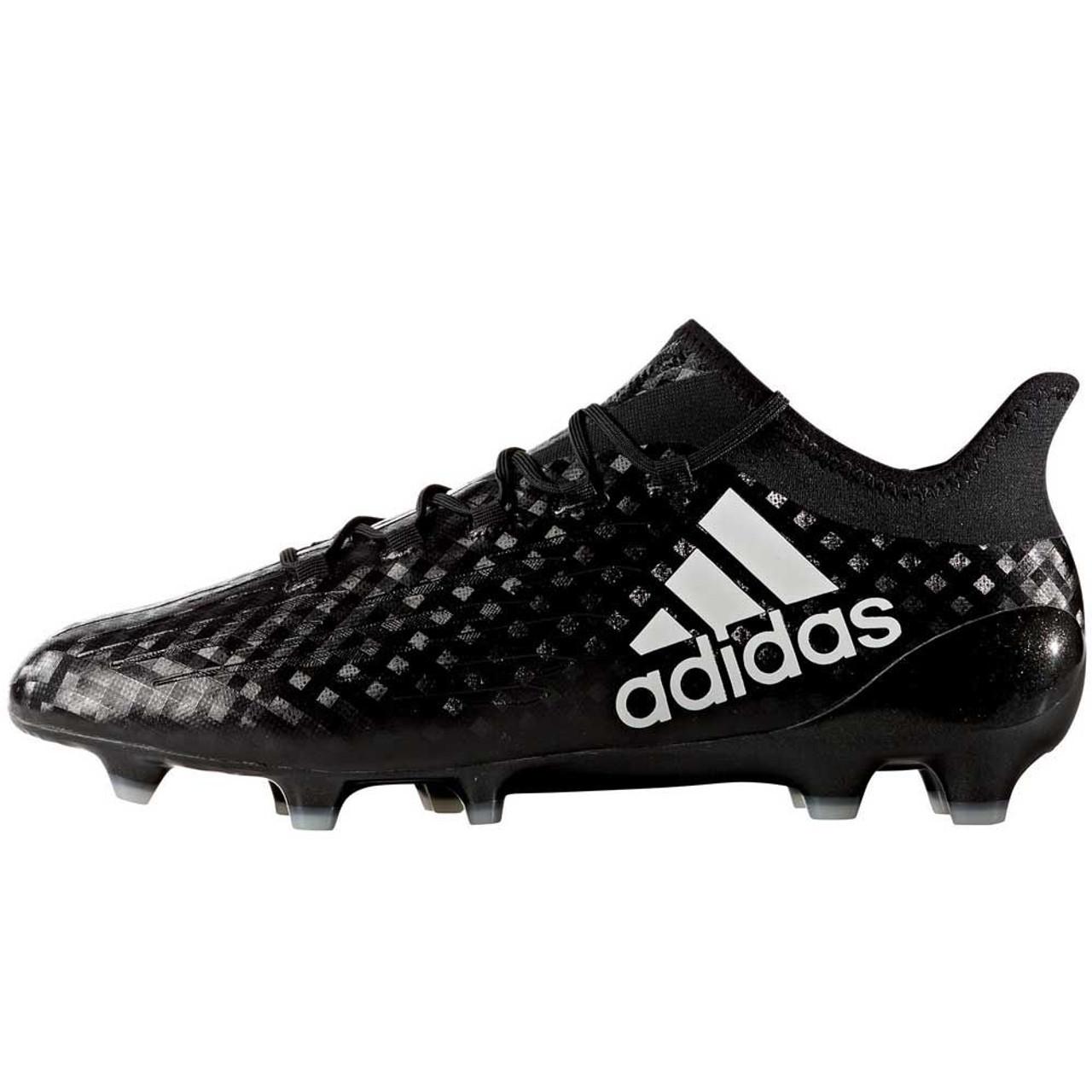 9de38cf8fc5 ADIDAS X 16.1 FG CORE BLACK GREY - Soccer Plus