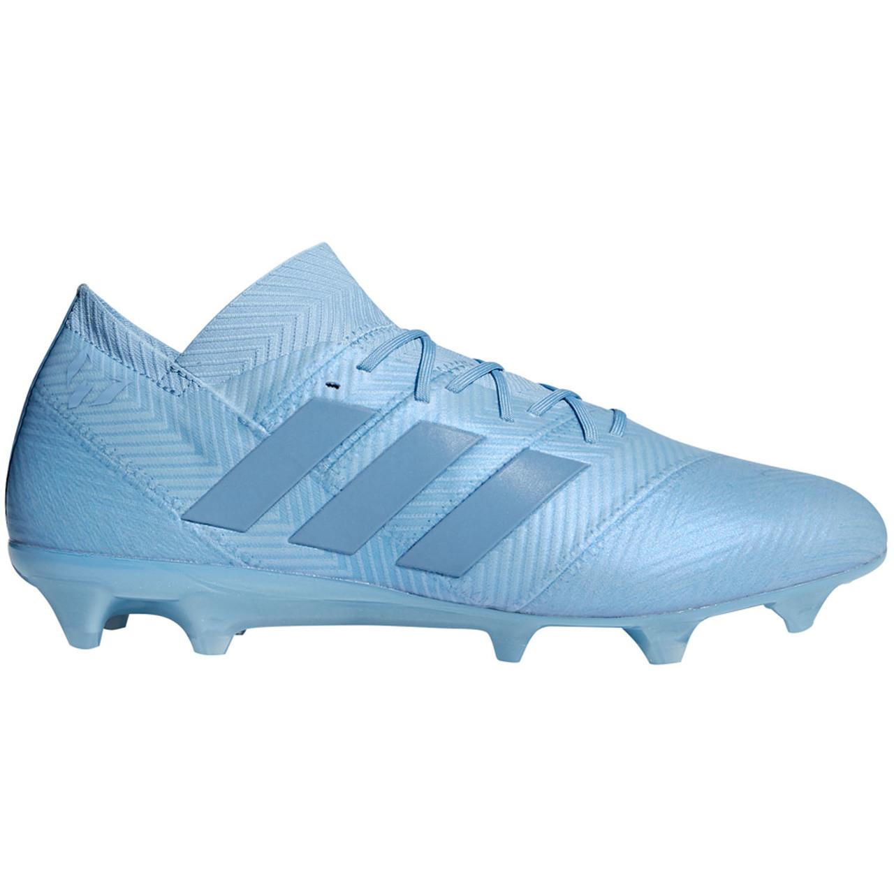 fed15601786 ADIDAS NEMEZIZ MESSI 18.1 FG ASH BLU - Soccer Plus