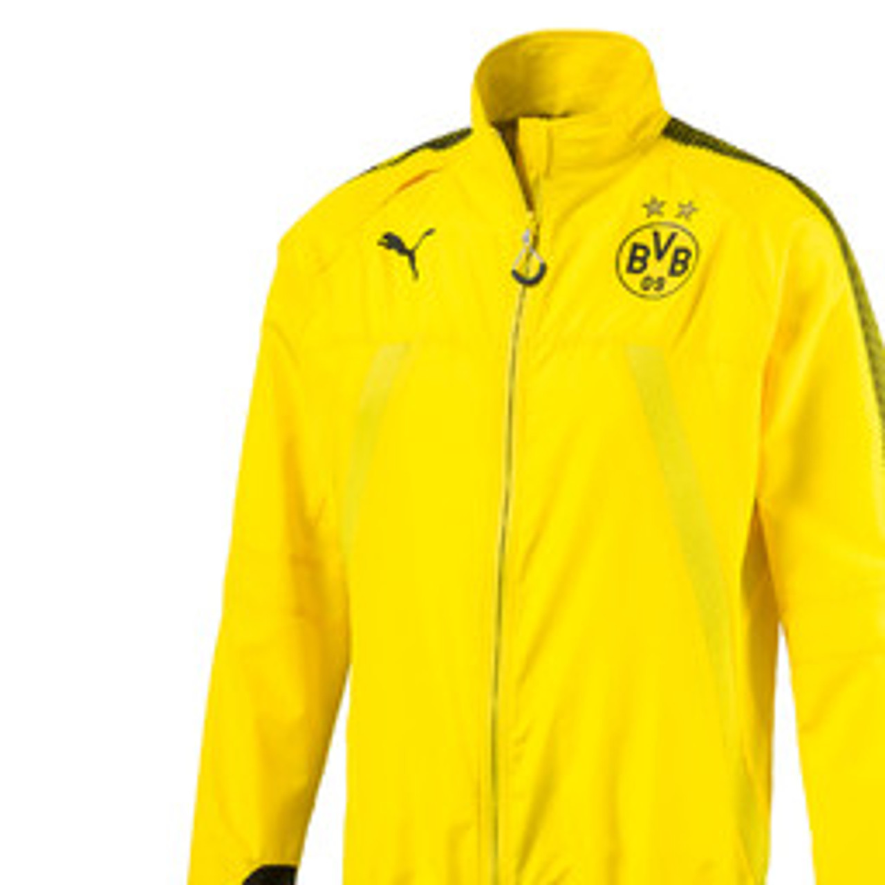 Puma Borussia Dortmund Vent Thermo Stadium Jacket Soccer Plus