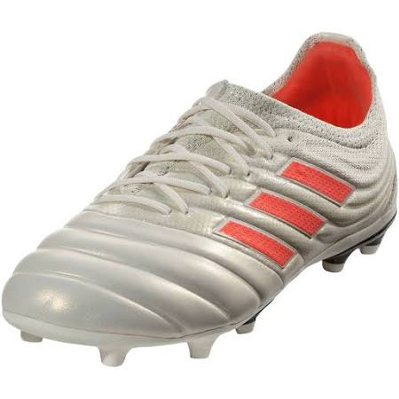 1e44a7305 ADIDAS COPA 19.1 FG Off White Solar Red Core Black - Soccer Plus