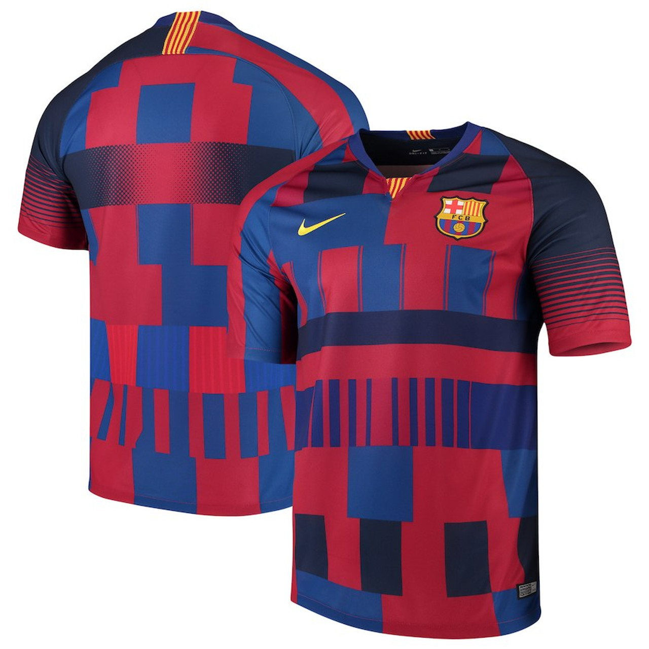 b580ecf1883 NIKE BARCELONA 2019 SPECIAL EDITION 20th Anniversary Jersey - Soccer Plus