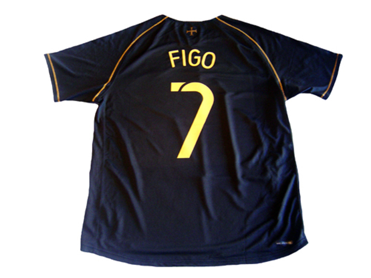 esposa calibre giratorio  NIKE PORTUGAL 2006 AWAY `FIGO` JERSEY - Soccer Plus