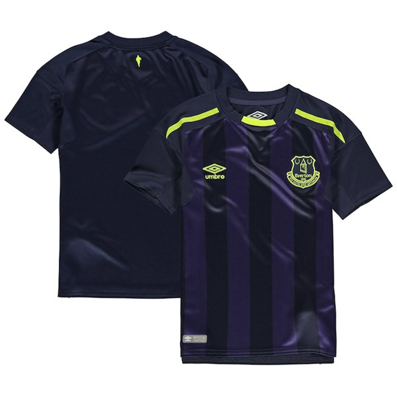 best sneakers 6a3f3 15f02 UMBRO EVERTON 2018 AWAY BOYS 3RD JERSEY