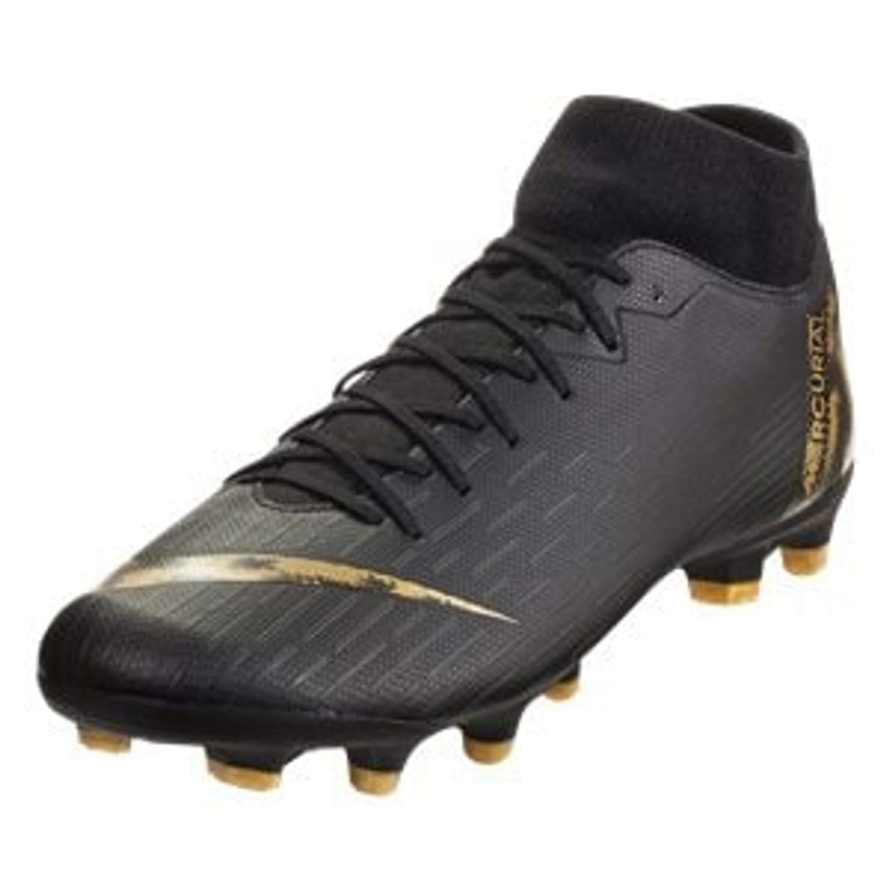 separation shoes bc78b c15e5 NIKE SUPERFLY 6 ACADEMY FG/MG BLACK/GOLD