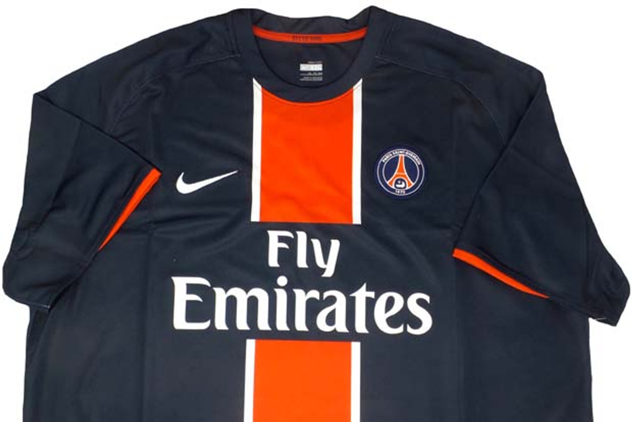 promo code 87d10 03ca3 NIKE PARIS SAINT GERMAIN 2009 HOME JERSEY