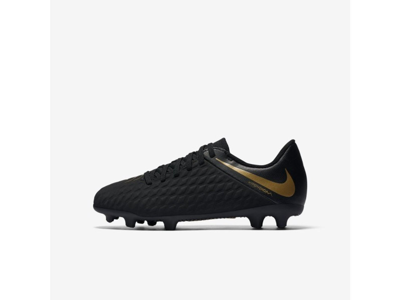 online store reputable site good texture NIKE JR PHANTOM 3 CLUB FG BLACK/GOLD