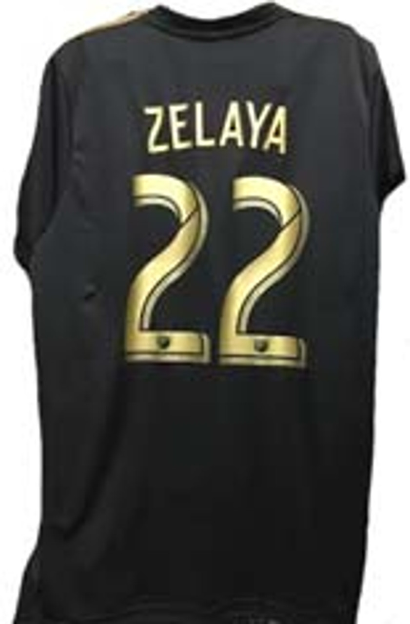 92720317c ADIDAS LAFC 2019 HOME `ZELAYA` JERSEY BLACK - Soccer Plus