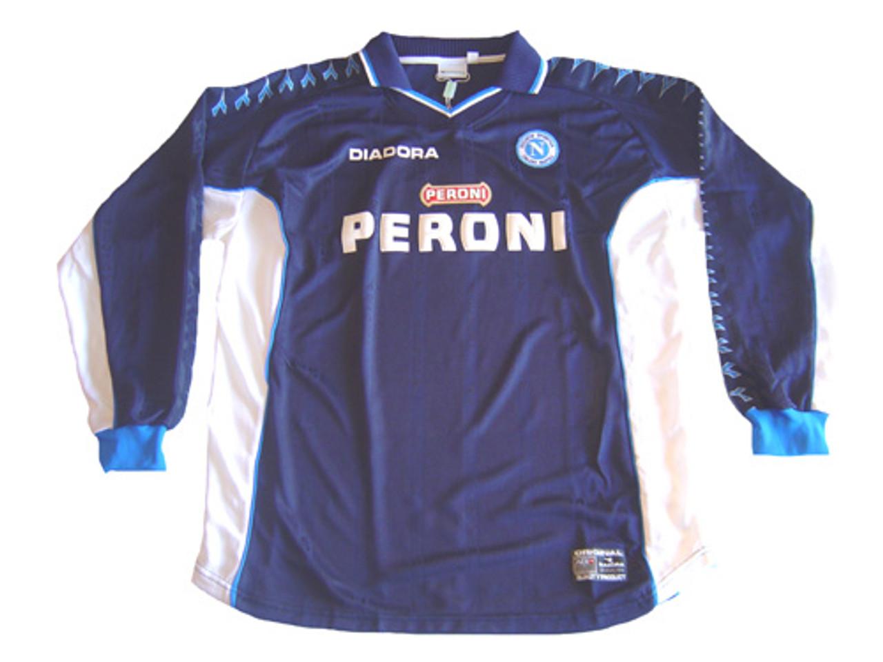 Diadora Napoli 2001 Away L S Jersey Soccer Plus
