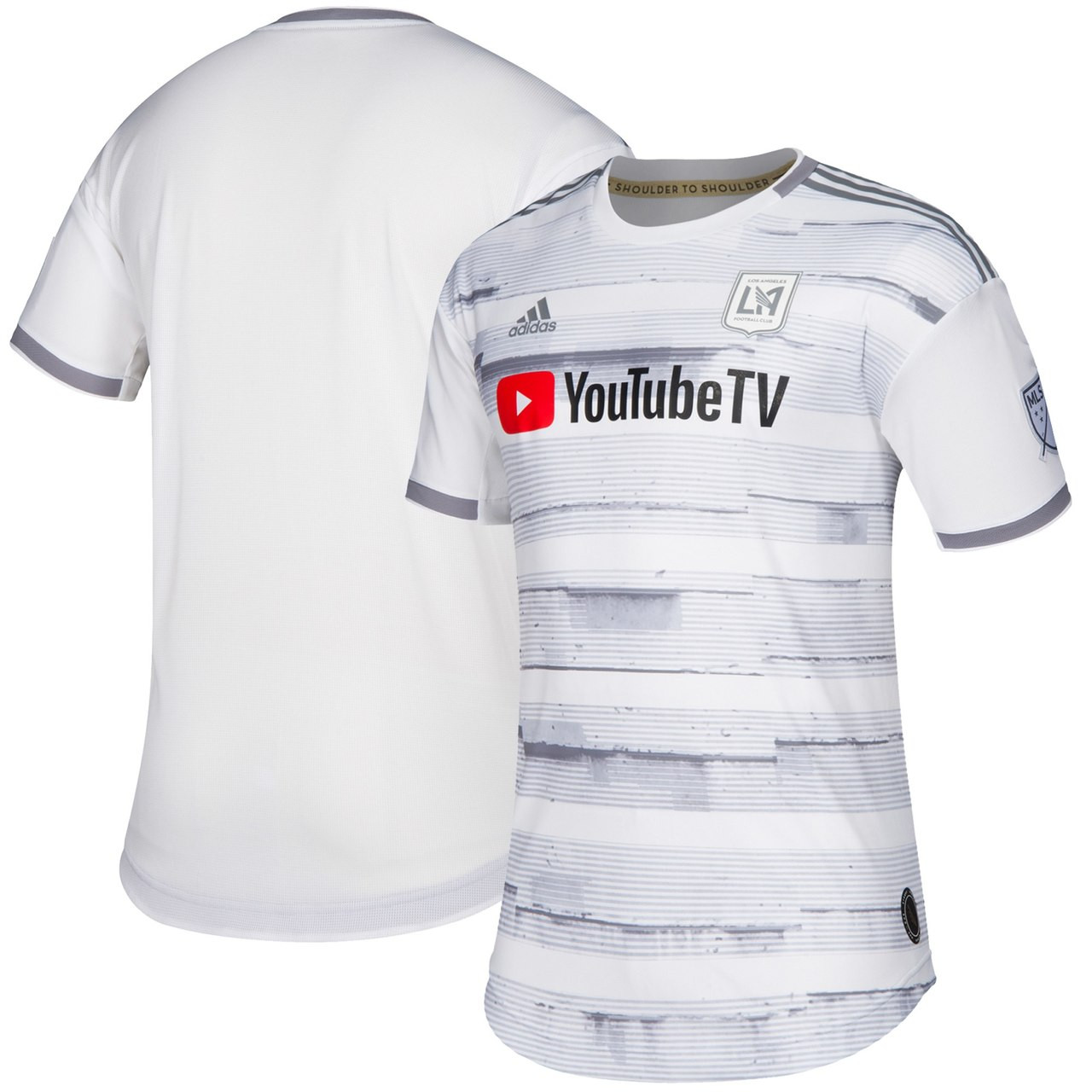 0a8dd8a62 ADIDAS LAFC 2019 Street By Street Authentic Away Jersey White - Soccer Plus
