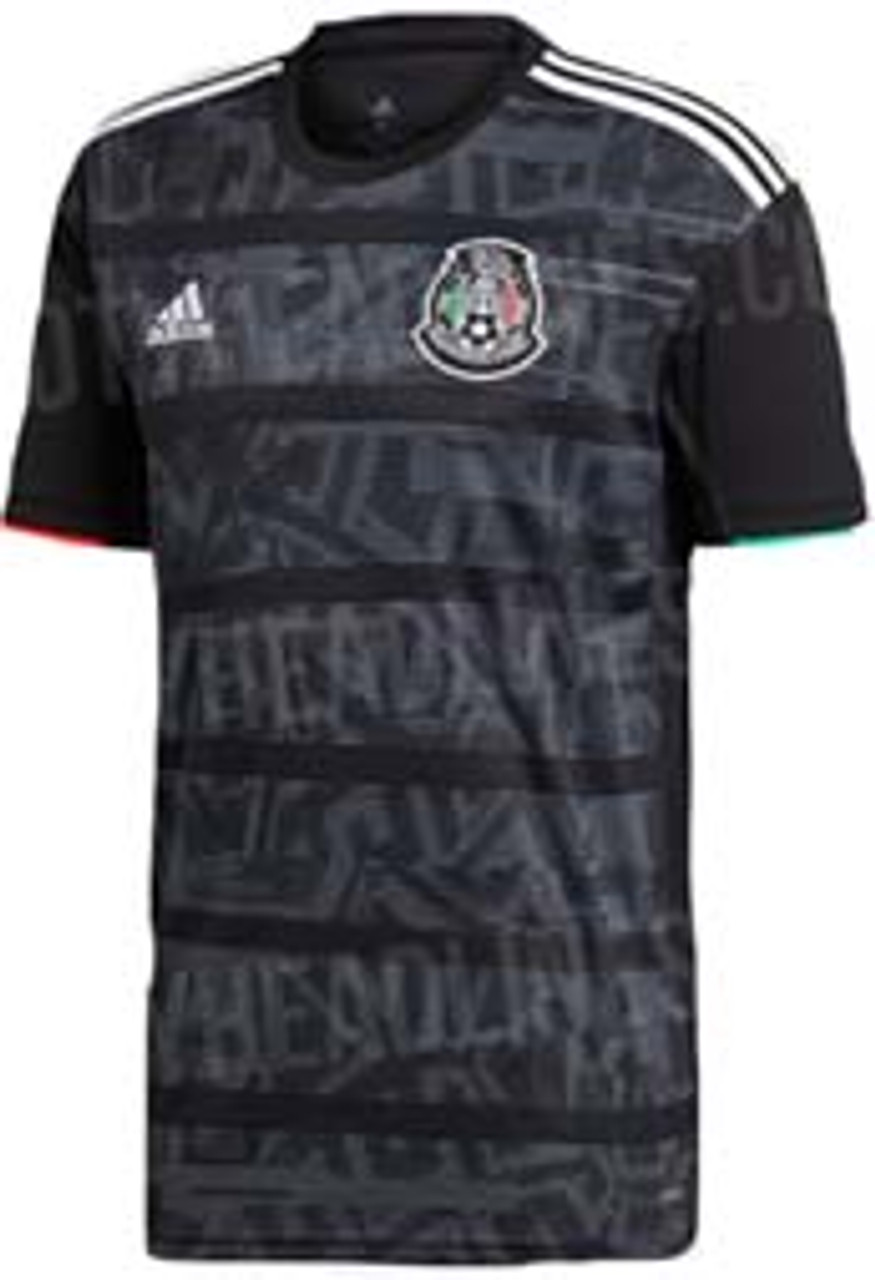 a5cbb77d646 ADIDAS MEXICO 2019 AUTHENTIC HOME JERSEY BLACK - Soccer Plus