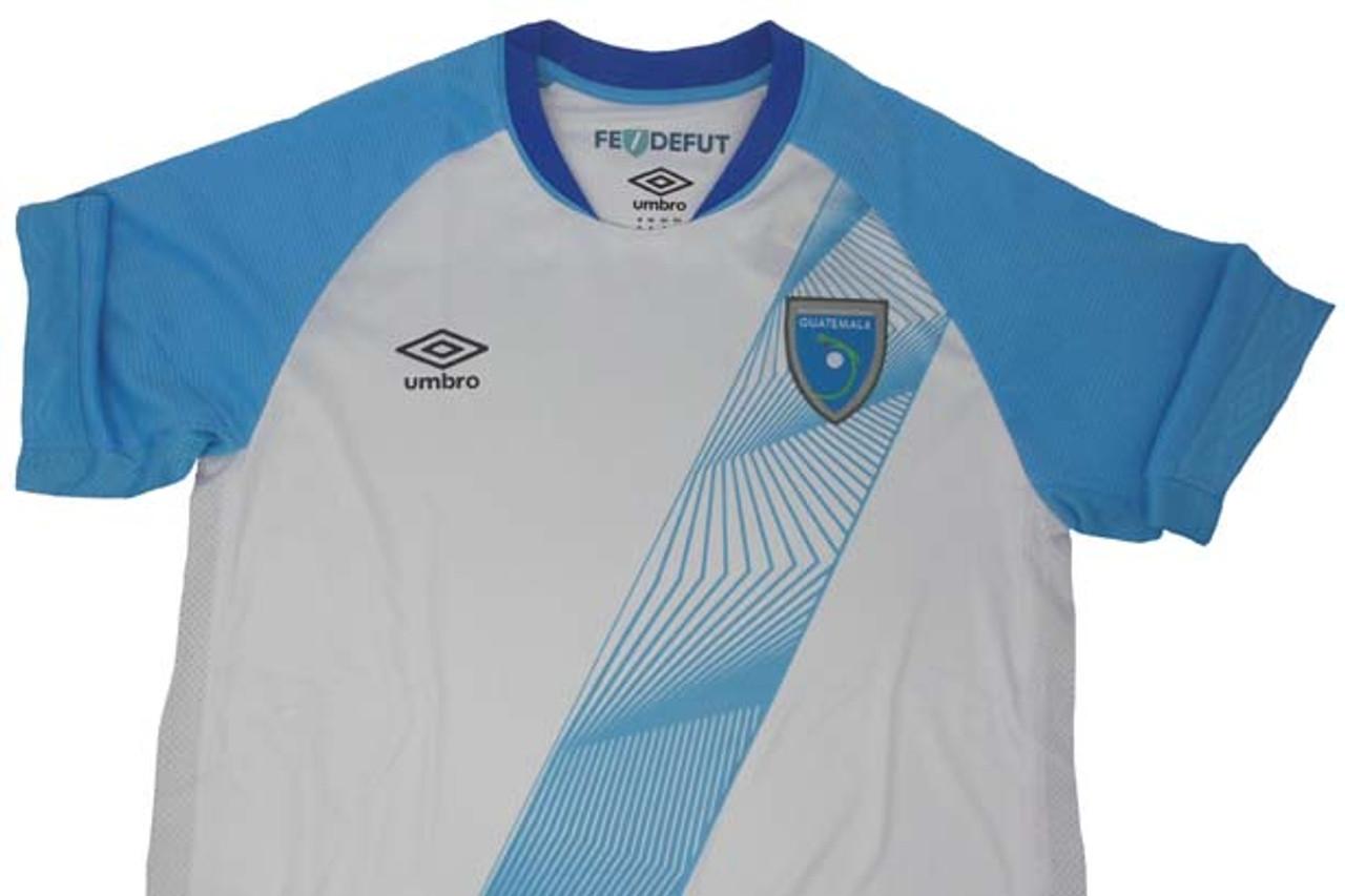6e58eb710e3 UMBRO GUATEMALA 2019 HOME JERSEY WHITE - Soccer Plus