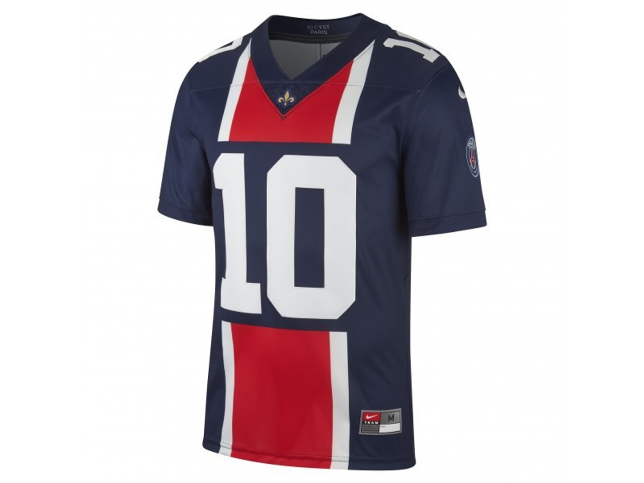 the latest 98965 b2597 NIKE PSG Limited Football Jersey - Midnight Navy/Challenge Red/White