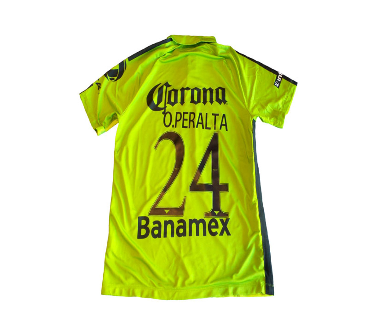 3bd52d7a186 NIKE CLUB AMERICA 2015 AWAY `PERALTA`JERSEY GREEN - Soccer Plus