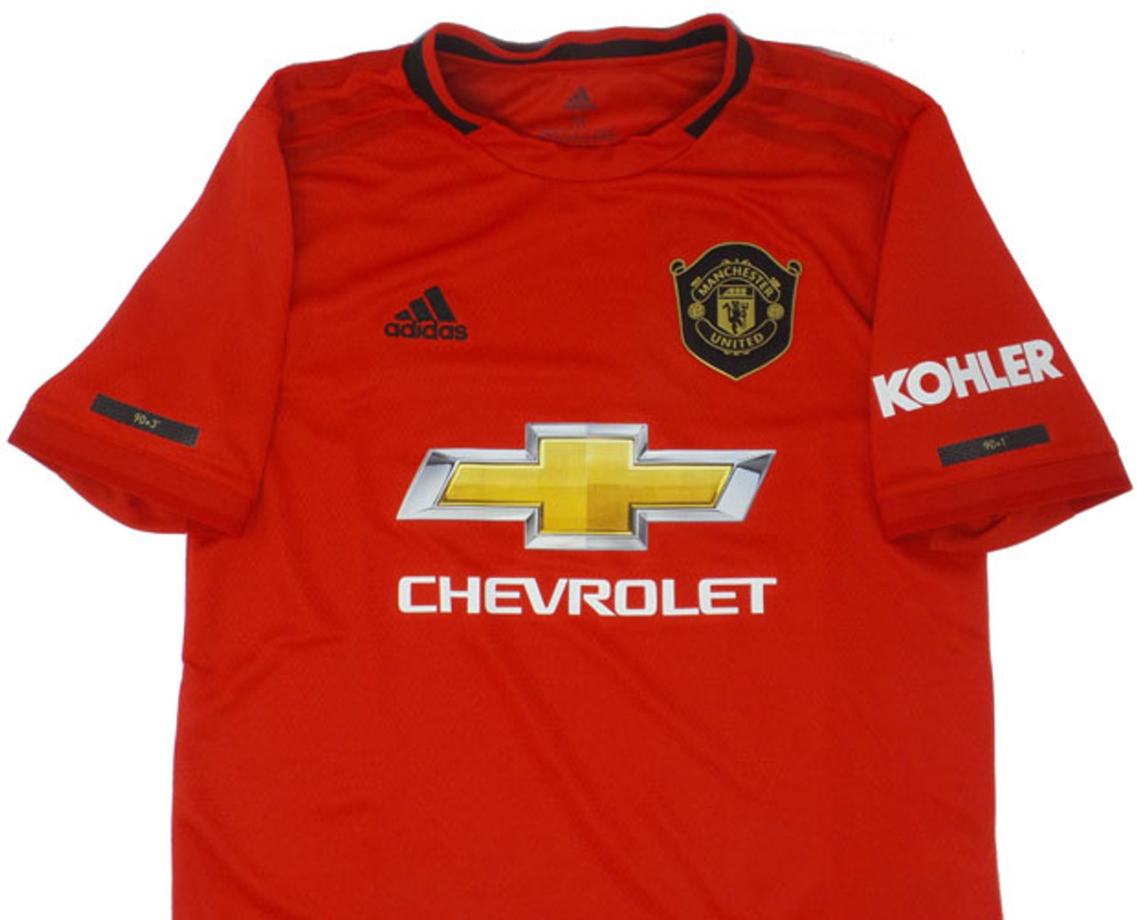 factory price 92438 6dbc7 ADIDAS MANCHESTER UNITED 2020 BOYS HOME JERSEY